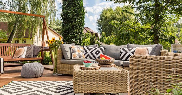 Outdoor Porch Patio Home Garden